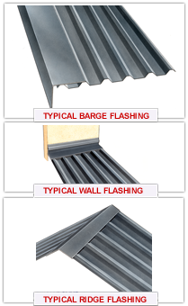 different types of flashing